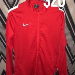 Red Nike jacket NWOT